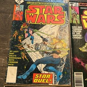 Marvel Comics Other - Lot of 4 Star Wars Comic Books